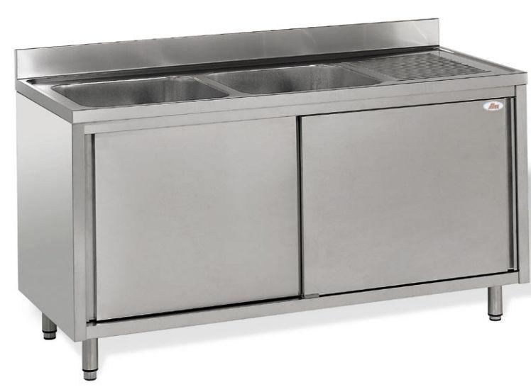 Mobile lavello su piedi / per cucina professionale - 70 LINE : W/SPL ...