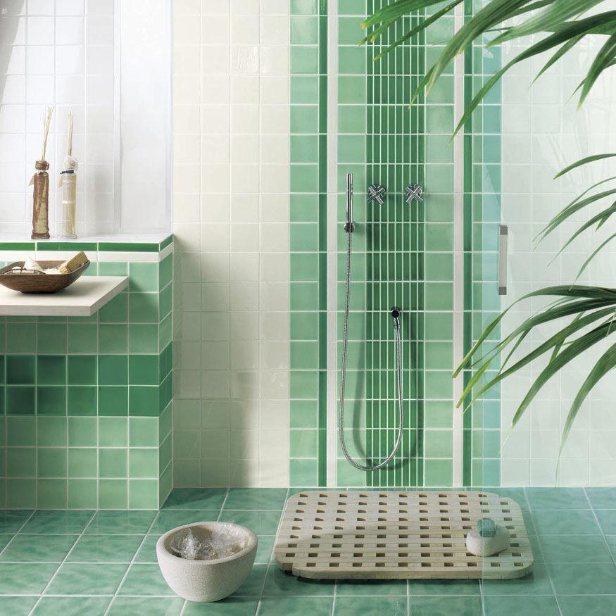 Piastrella da interno / da bagno / da pavimento / da parete ...