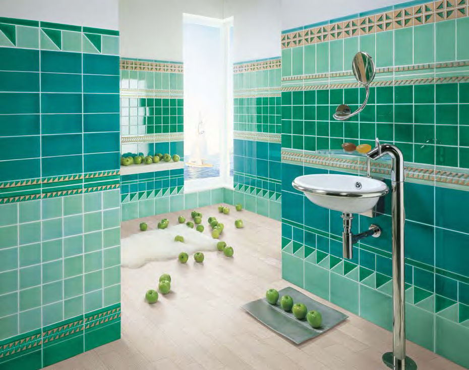 Piastrella da interno da bagno da pavimento da parete