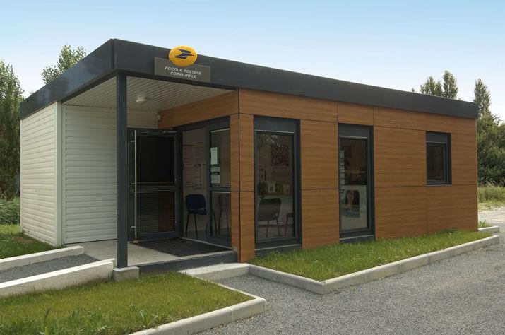 Ufficio In Legno Prefabbricato : Edificio prefabbricato per ufficio in legno ecologico