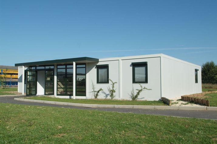 Ufficio In Legno Prefabbricato : Edificio modulare prefabbricato per ufficio in legno compta