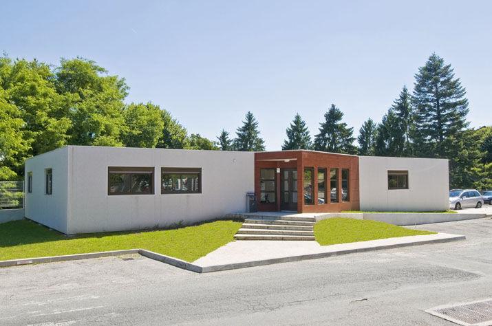 Ufficio In Legno Prefabbricato : Edificio modulare prefabbricato per ufficio in legno picoty