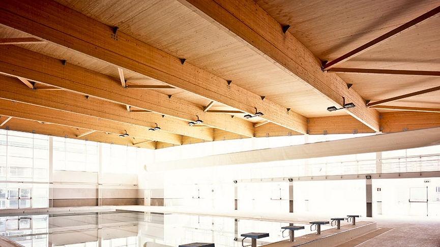 Lastra per solaio in legno lamellare / per tetto   canducci group