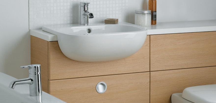 Lavabi Ad Incasso Ideal Standard.Lavabo Da Incasso Moderno Con Piano Integrato E6206 By Jasper