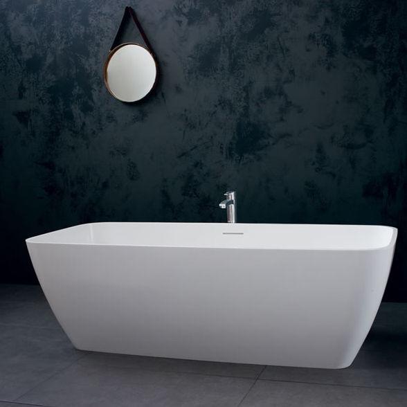 Vasca da bagno da appoggio / in pietra naturale   vicenza ...