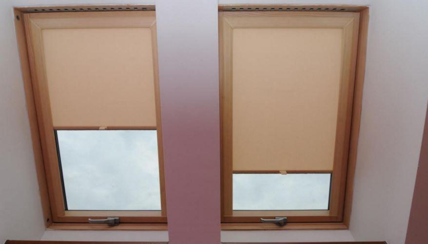 Tenda a rullo in tessuto per finestra da tetto occultante