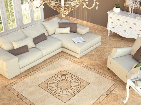 Piastrella da interno da pavimento in ceramica lucida kavala