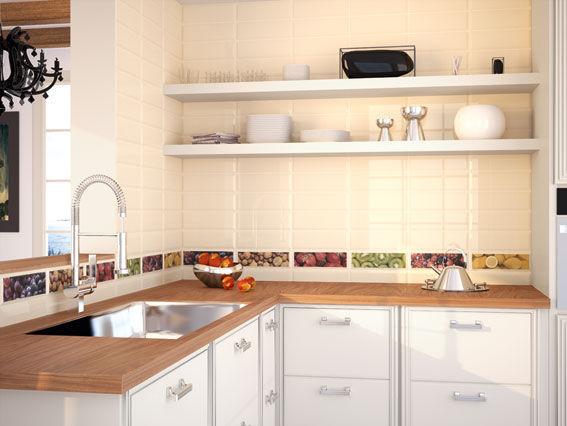 Piastrella da bagno da cucina da pavimento in ceramica loft