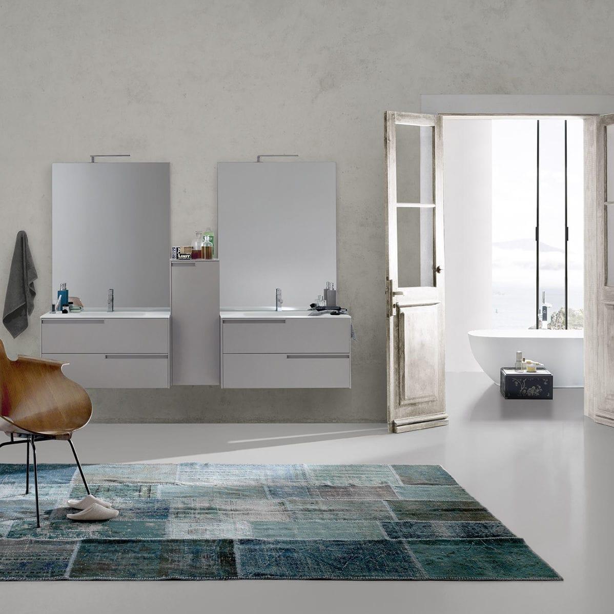 Bagno moderno / in ceramica / in legno / in melamminico ...