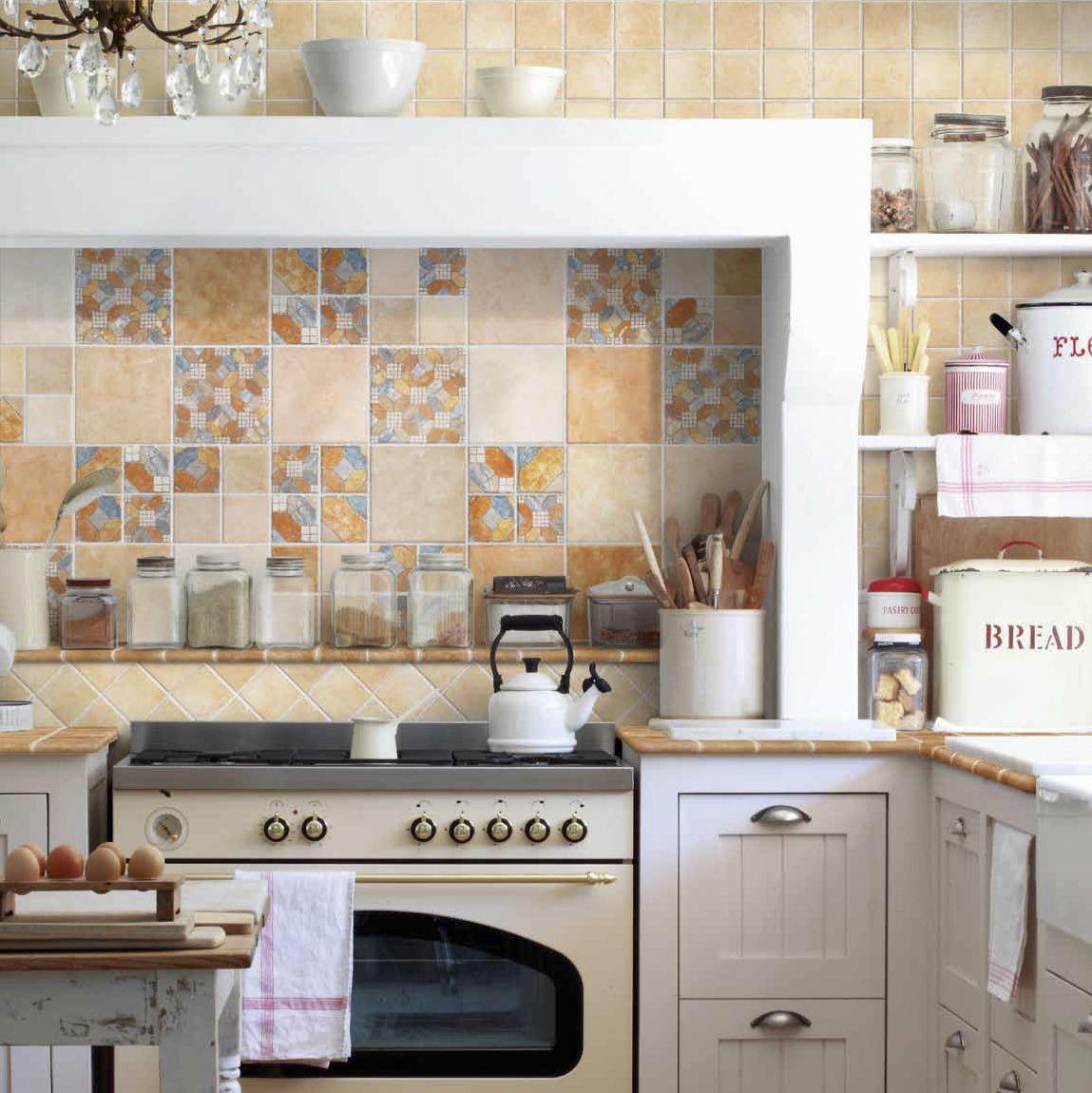 piastrella da bagno / da cucina / da parete / in ceramica - spezie ... - Ceramica Cucina