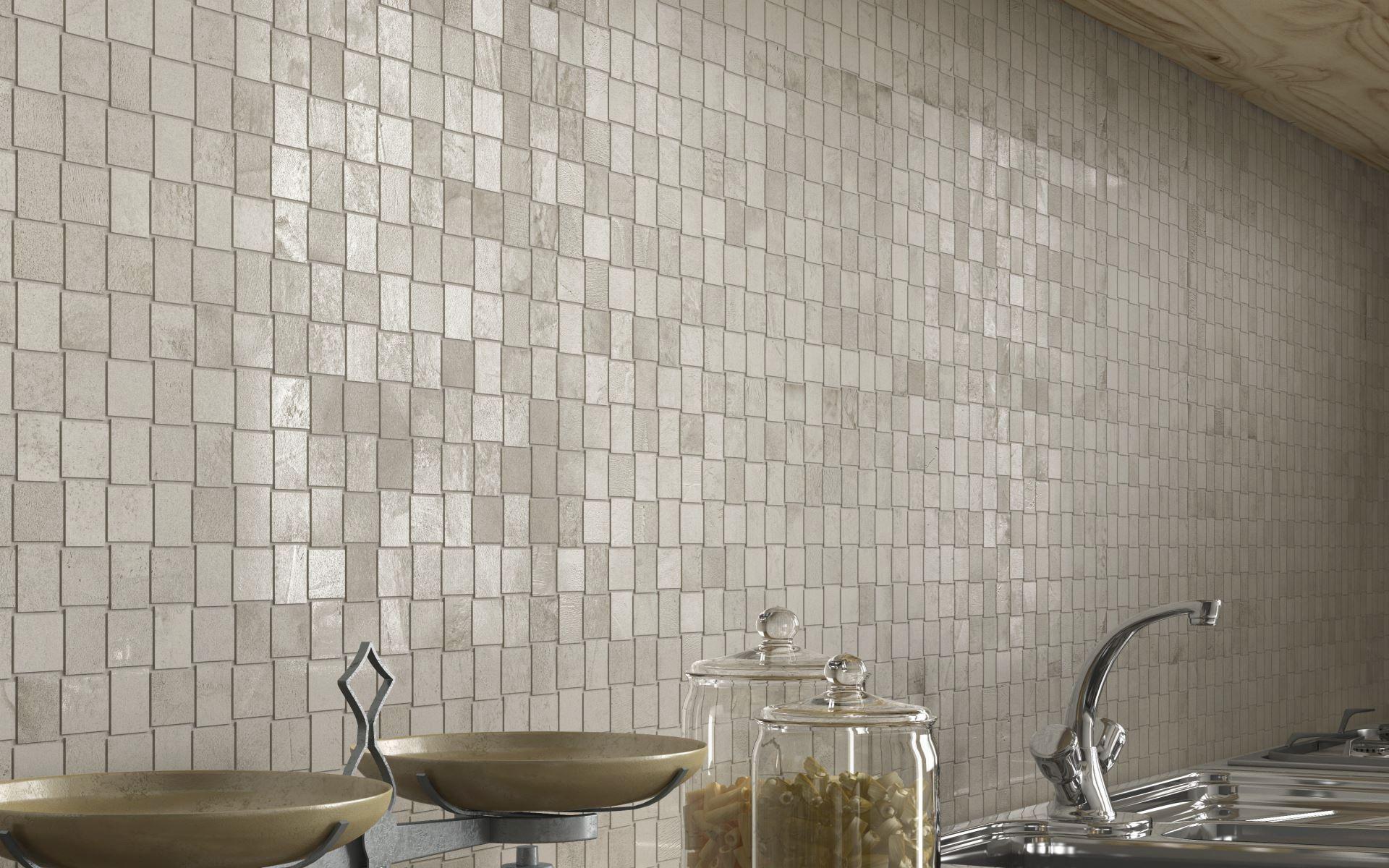 Piastrella da interno da cucina da parete in gres porcellanato
