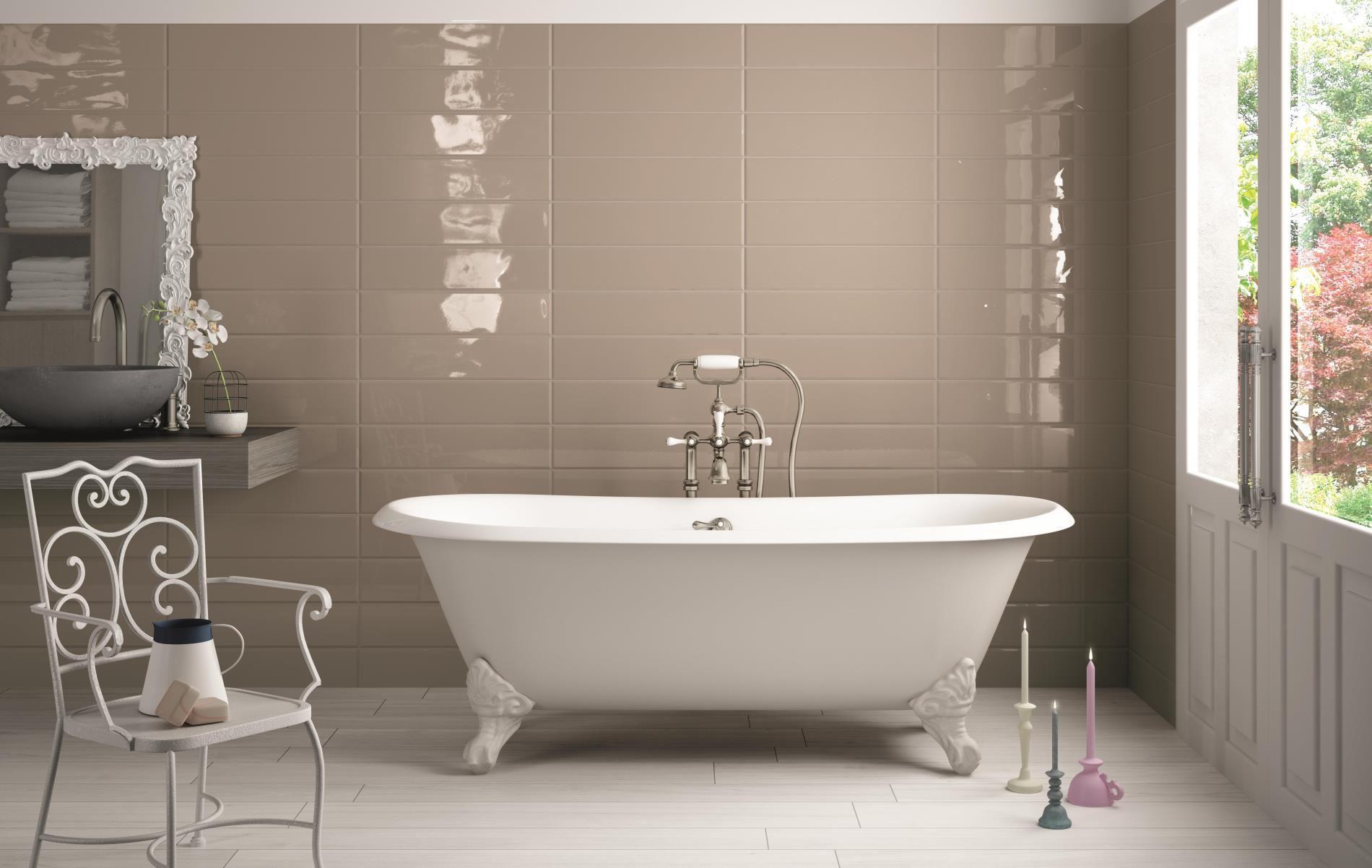 Vasca Da Bagno Dipingere : Pitturare piastrelle del bagno interesting grigio bagno idee