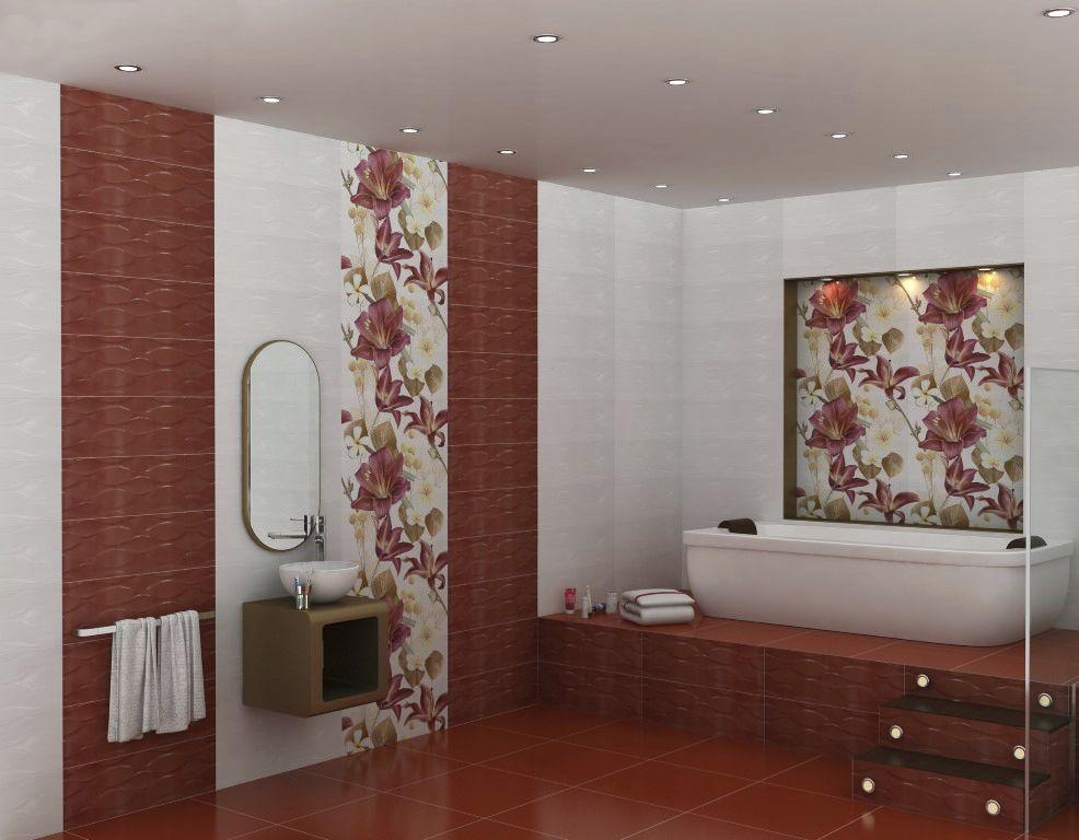 Piastrella da bagno da pavimento da parete in ceramica