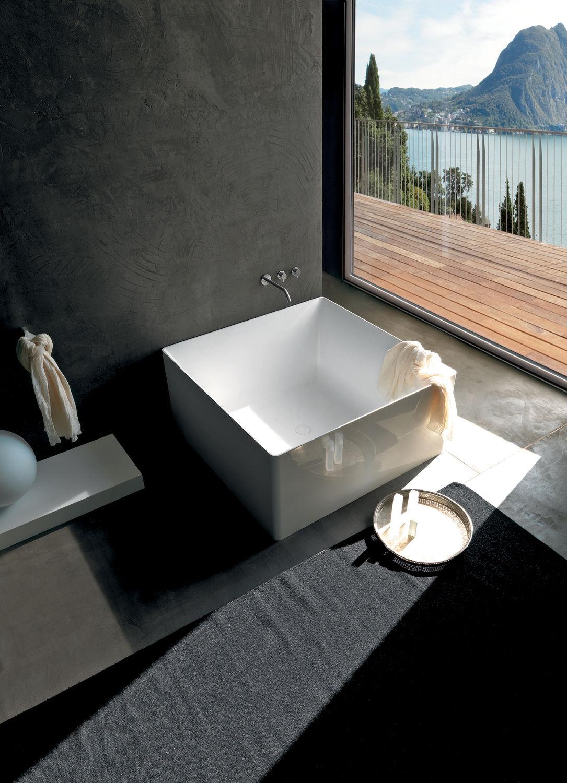 Vasca da bagno quadrata / in acrilico - DUAL - COLACRIL