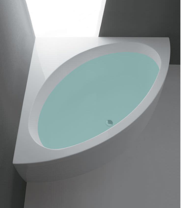 Vasca da bagno d\'angolo / in acrilico - SHARM by Alessandro Paolelli ...