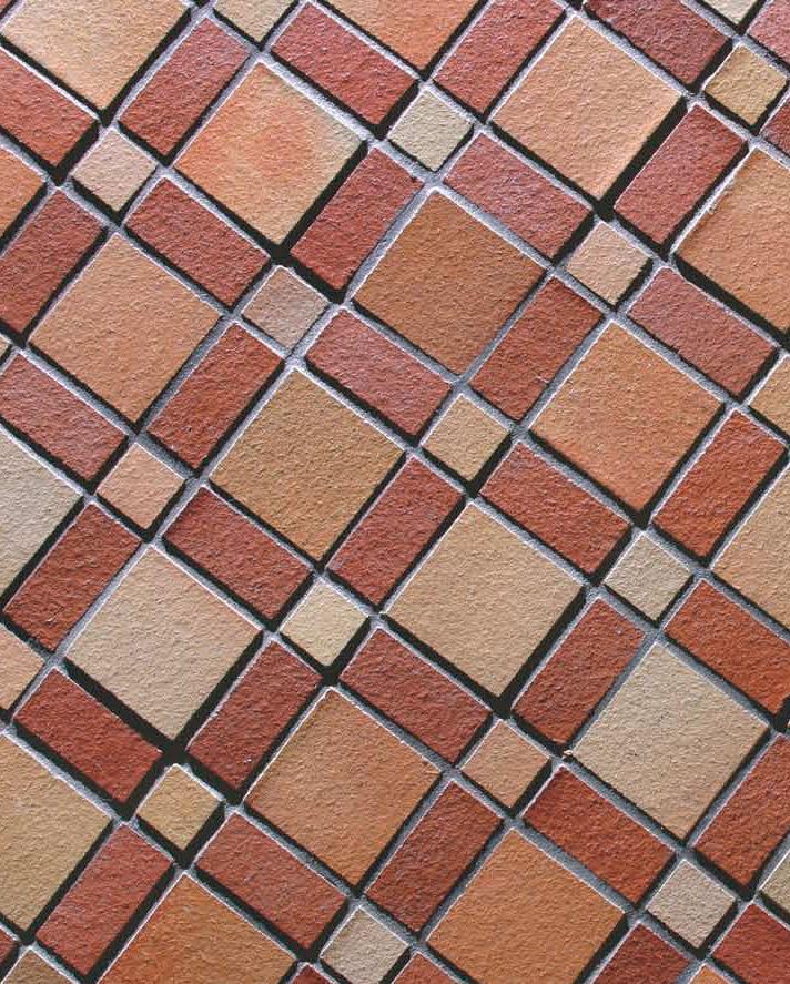 Eccezionale Mosaico da interno / da esterno / da bagno / da pavimento - COTTO  VB32