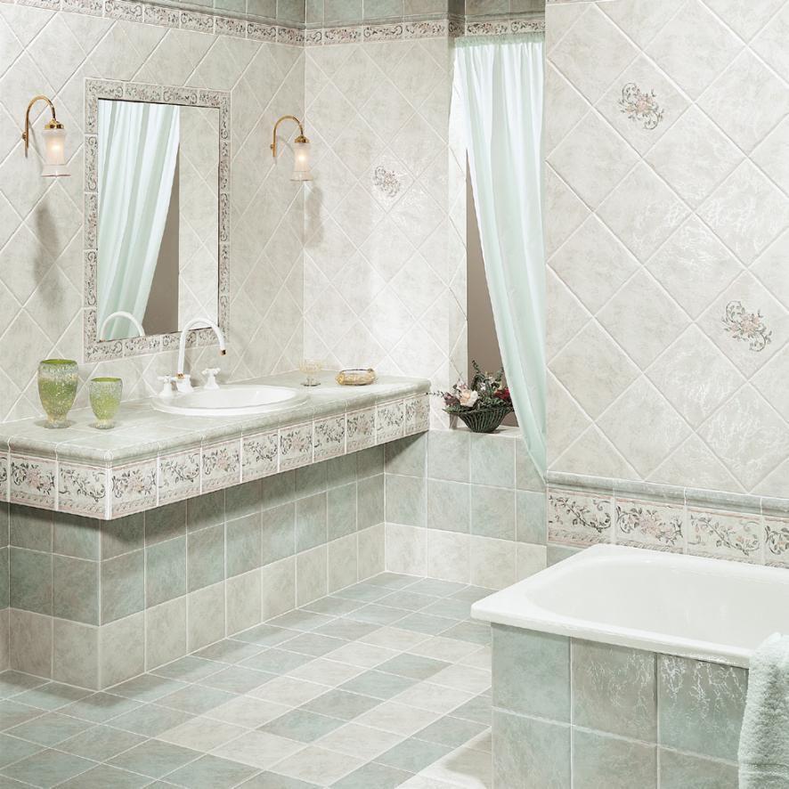 Piastrella da bagno / da parete / per pavimento / in gres ...