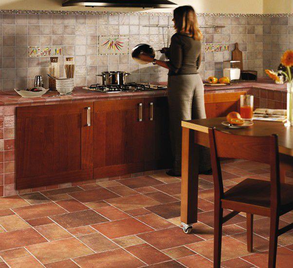 Piastrella da cucina / a muro / da pavimento / in gres ...
