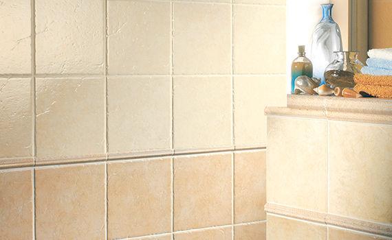 Piastrella da bagno da parete in ceramica opaca perÙ il