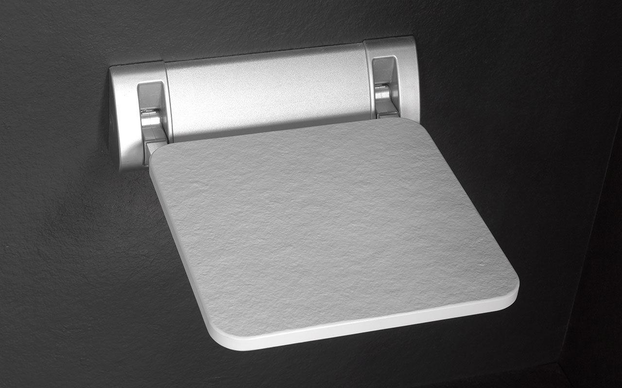 Per Parete Doccia Alluminio Contract Sedile Ribaltabile In Da qMSzpUV