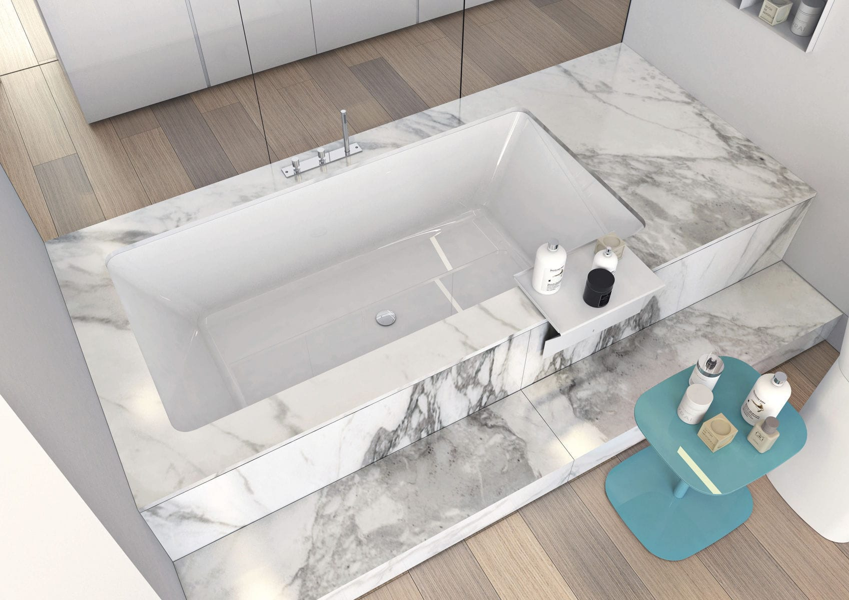 Vasca Da Bagno In Resina : Vasca da bagno in corian® in resina in marmo in legno wave