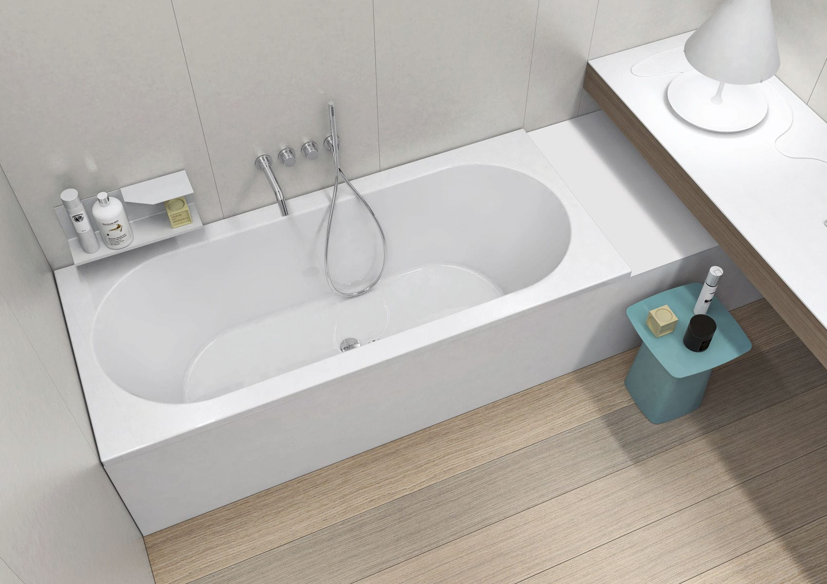 Vasca Da Bagno Resina Prezzi : Vasca da bagno ovale in corian in resina in marmo