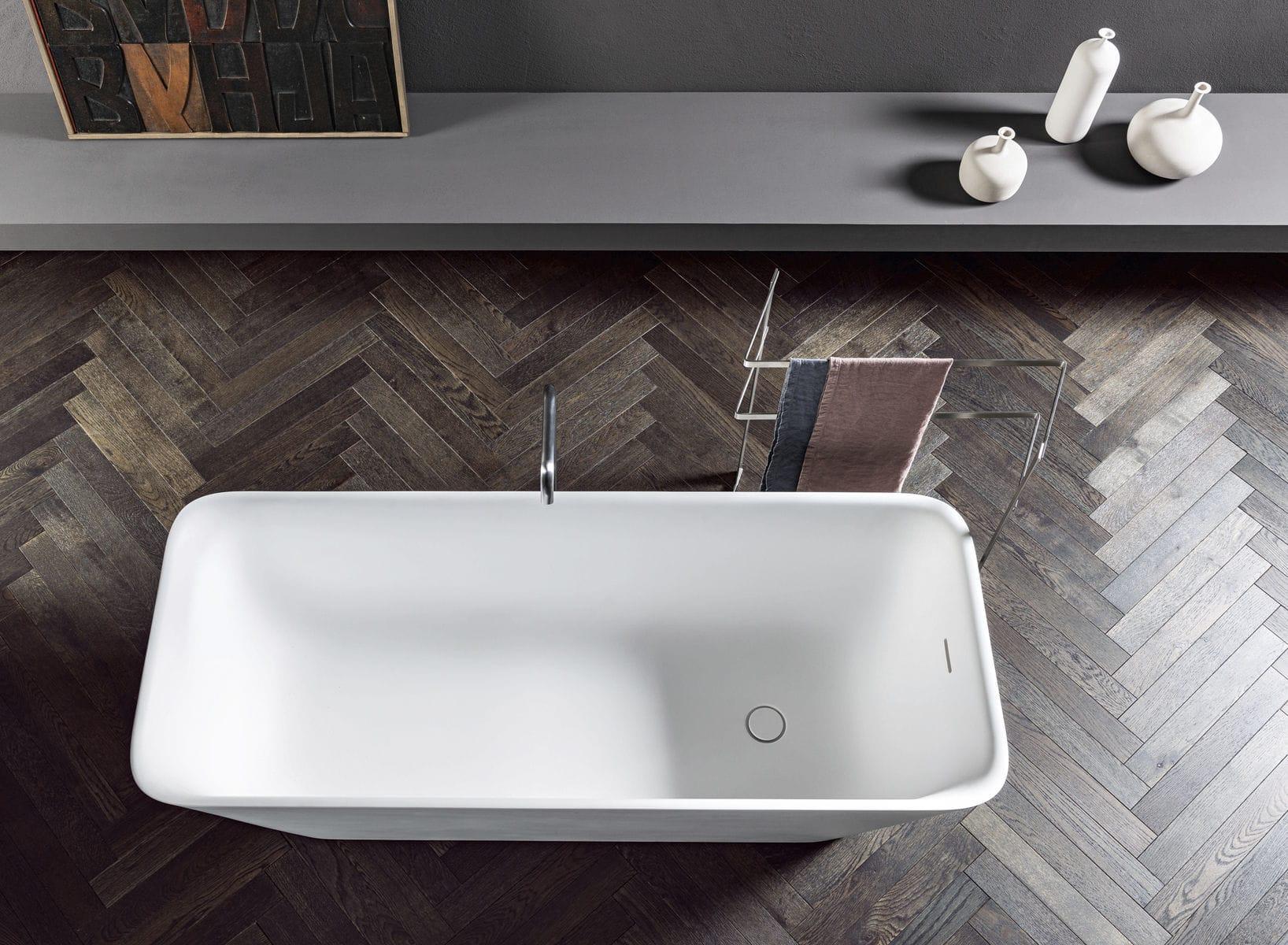 Vasca Da Bagno Makro Prezzi : Vasca da bagno da appoggio in solid surface loft makro