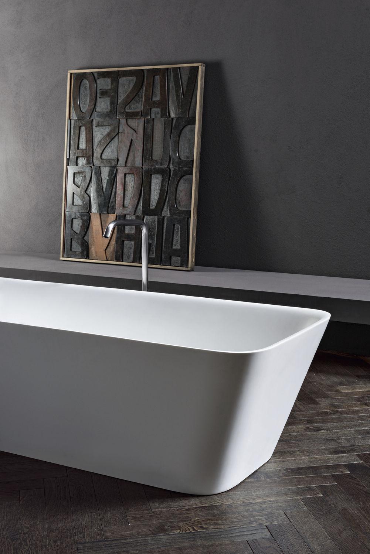 Vasca da bagno da appoggio / in Solid Surface - LOFT - MAKRO