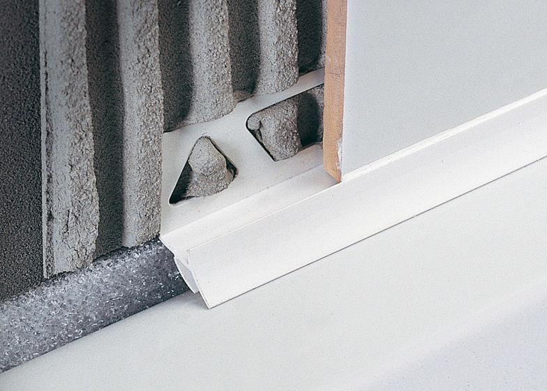 Profilo di finitura in resina per piastrelle per angolo