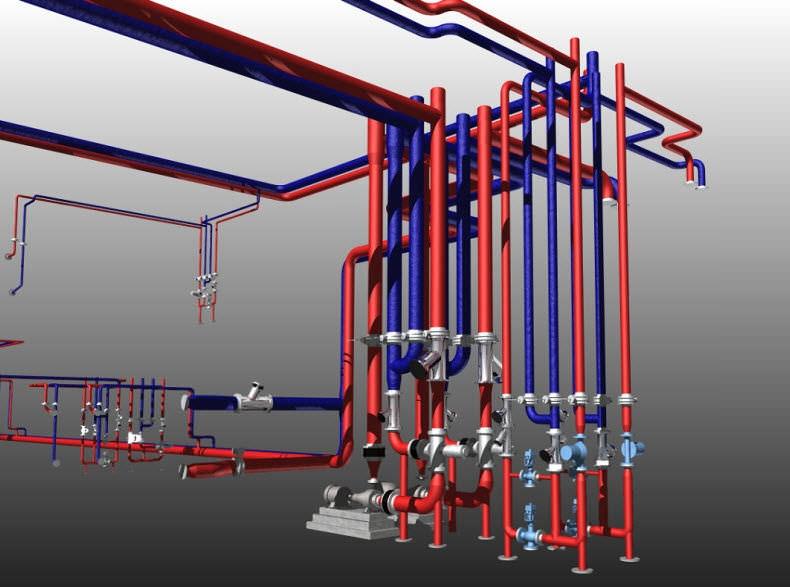 Software di progettazione per impianti di riscaldamento per