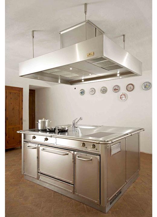 Cucina moderna / in acciaio inox - GU1610 serie GRAND CHEF ISOLA ...
