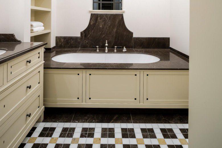Rivestimento vasca da bagno rettangolare classic van den weghe