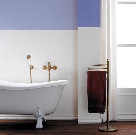 Miscelatore per vasca / da parete / in ottone / da bagno - ANTICO ...