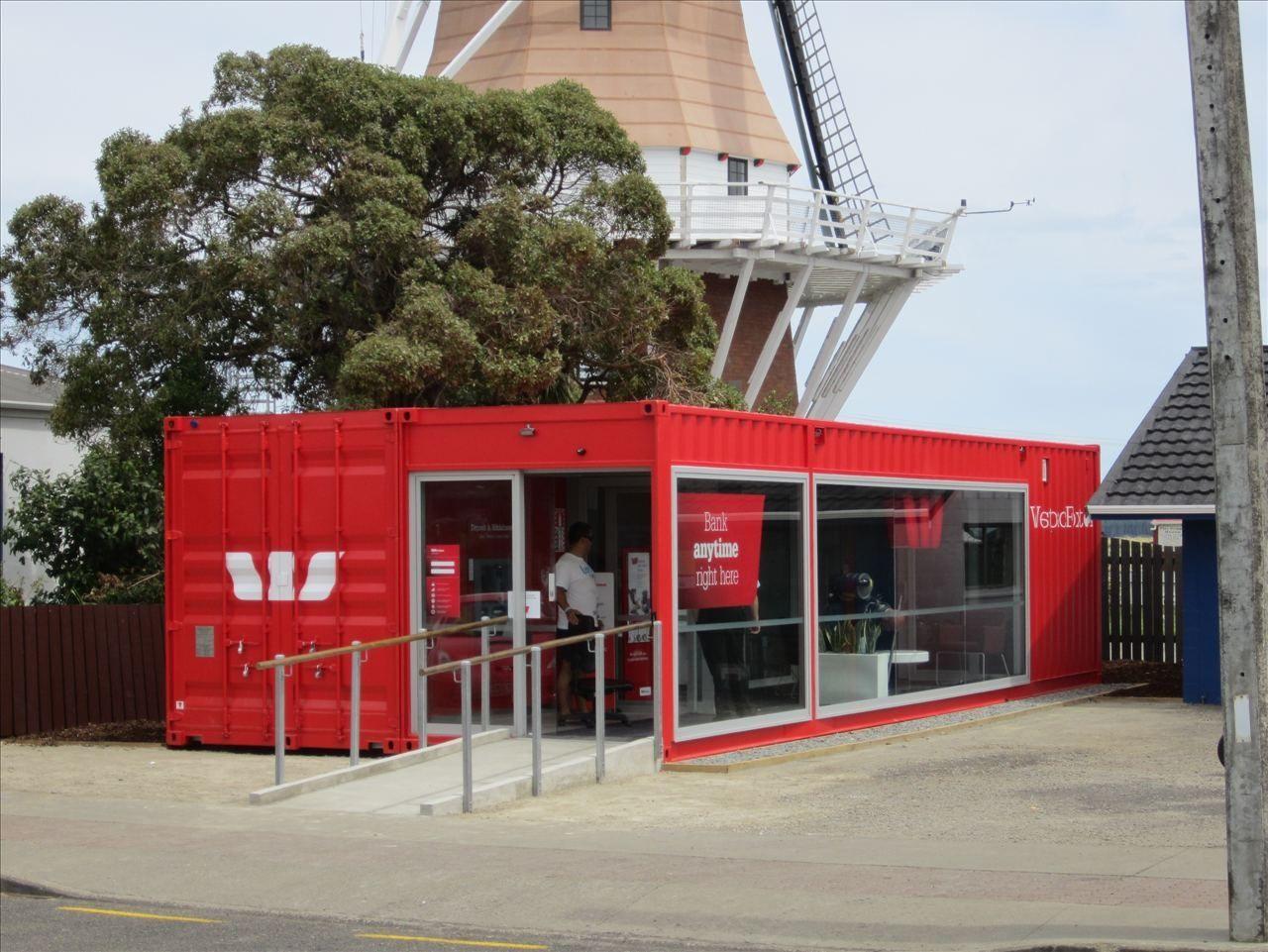 Ufficio A Container : Container commerciale per ufficio westpac mobile bank branch
