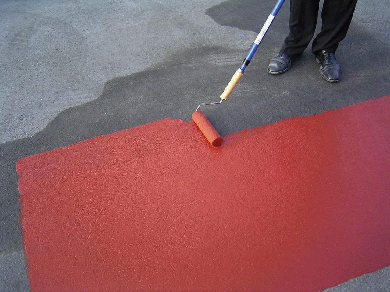 Pittura Per Cemento : Pittura decorativa per pavimento antiscivolo traffic watco