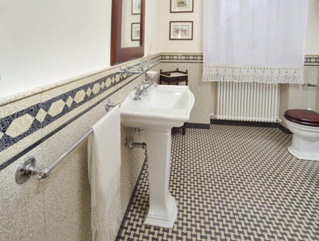 Piastrella da bagno da pavimento in terrazzo motivo