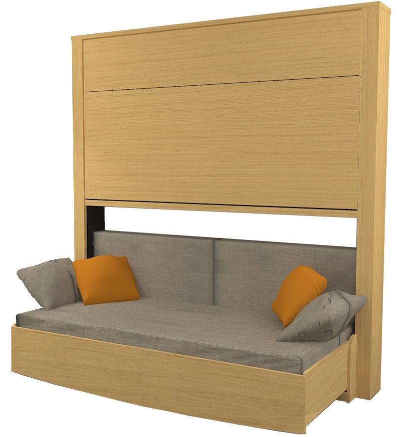 divano letto / moderno / legno / 2,5 posti - liftsecurity / bureau ... - Divano Letto Matrimoniale Legno
