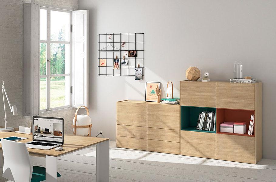 La Credenza Muebles : Credenza moderna in quercia frentes d vive muebles