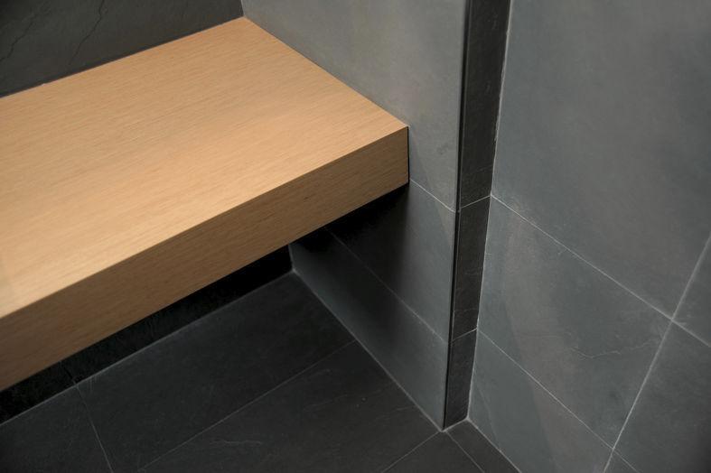 Piano Bagno In Ardesia : Piastrella da bagno da cucina da pavimento in ardesia mare