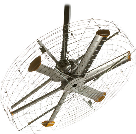 ventilatore a soffitto / industriale / in metallo - pivot - big