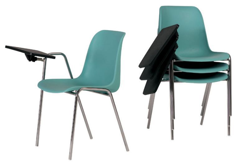 Sedia visitatore moderna / impilabile / con braccioli / con ...