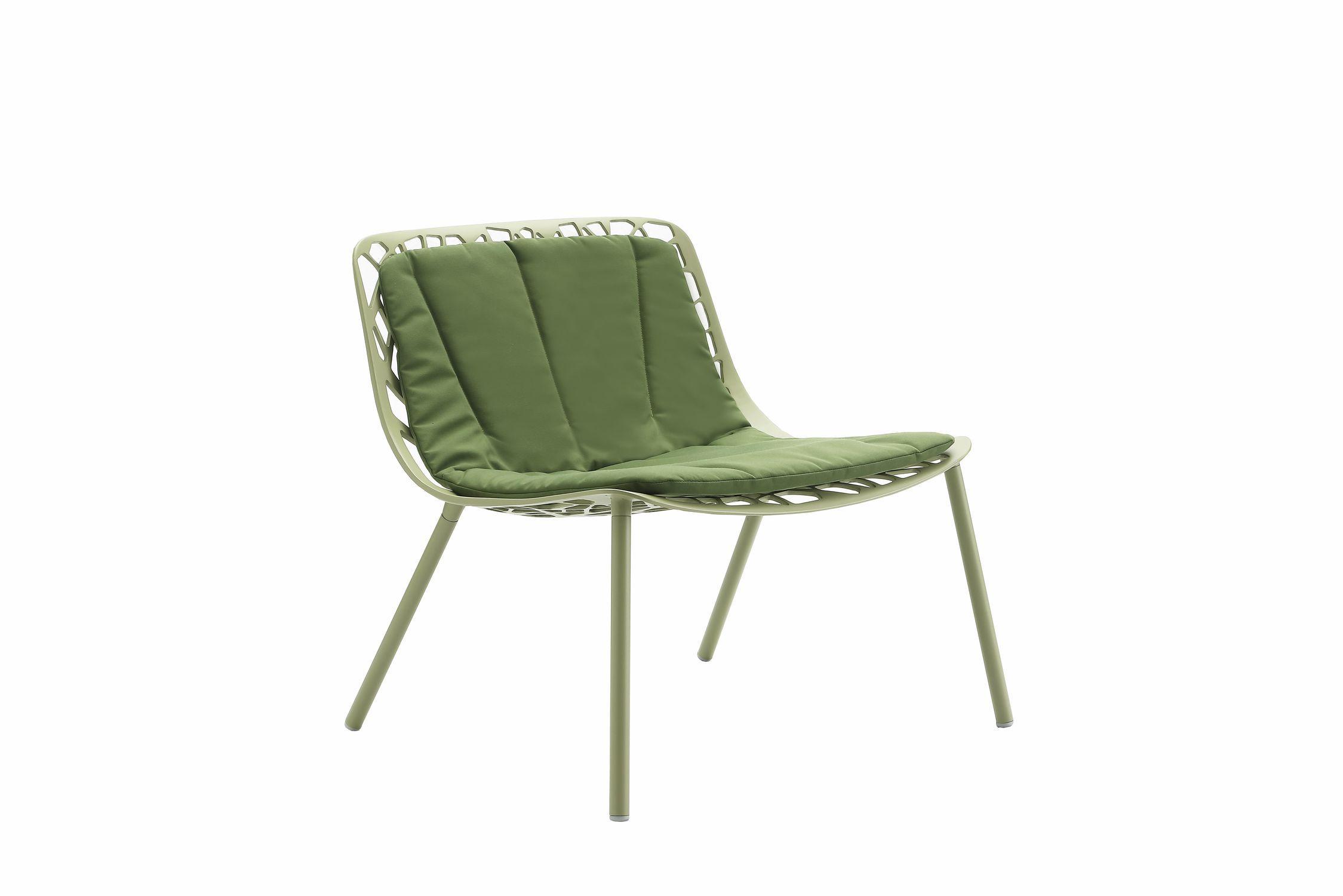 Cuscino per sedia per esterni rettangolare a motivi forest