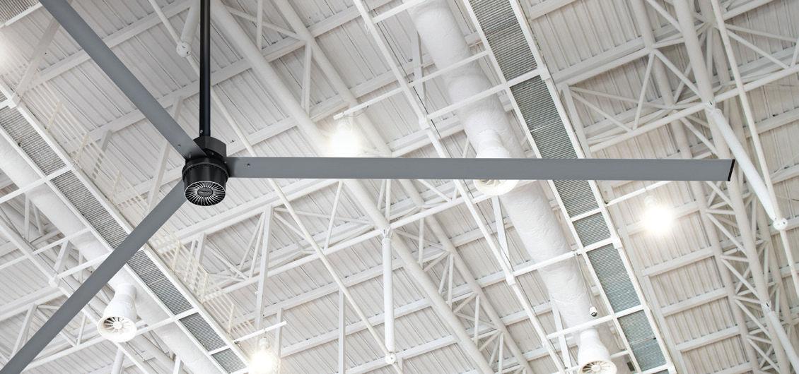 ventilatore a soffitto / industriale / in plastica - avd3