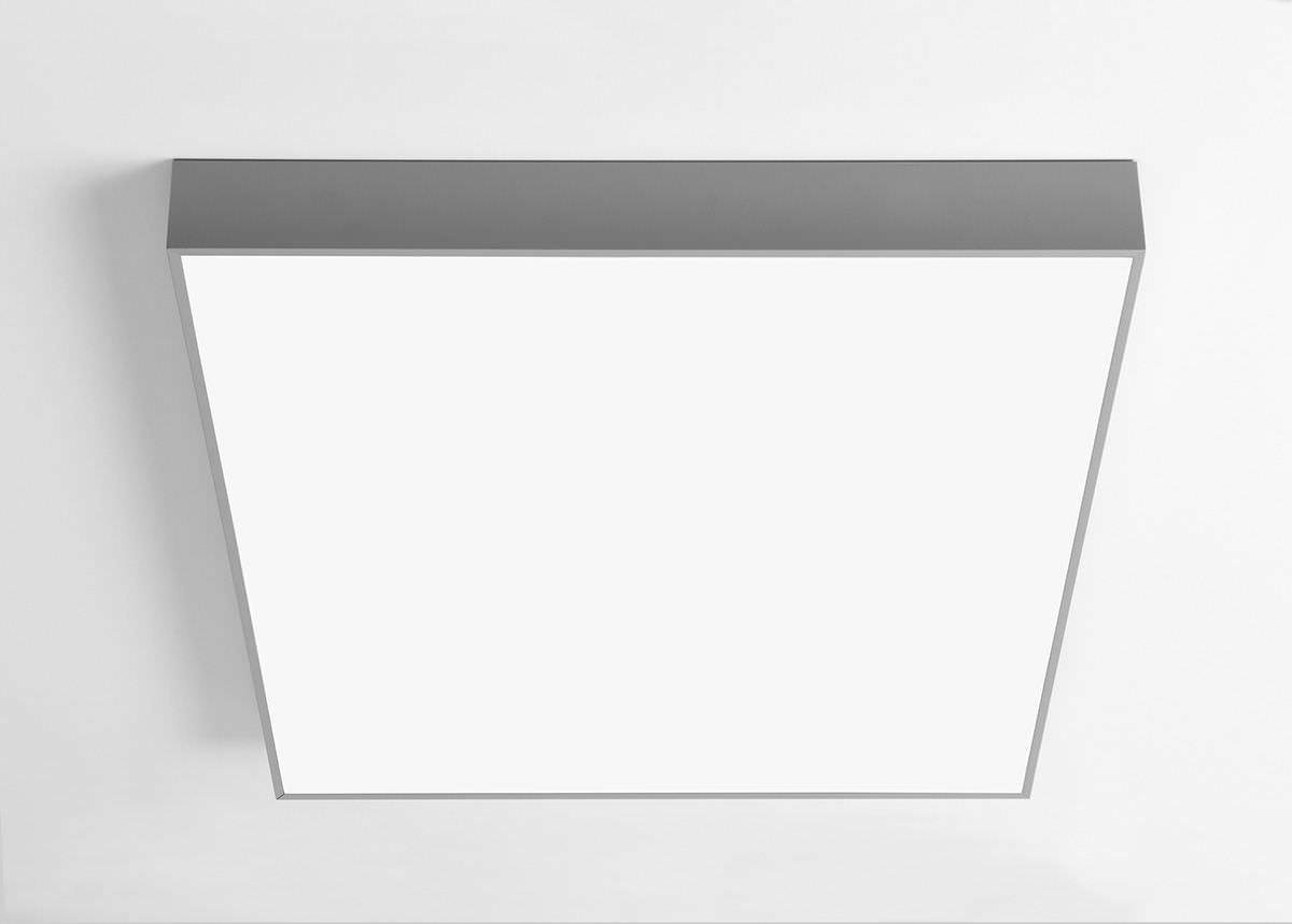 Plafoniera Led Rettangolare : Plafoniera moderna rettangolare in plastica a lampada