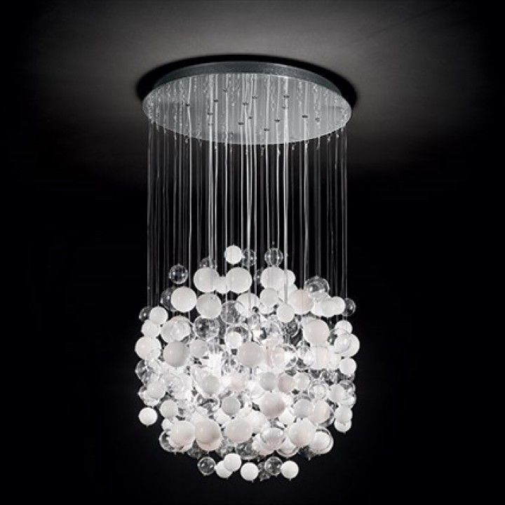 Lampadario moderno / in vetro - BOLLICINE - Ideal Lux S.r.l.