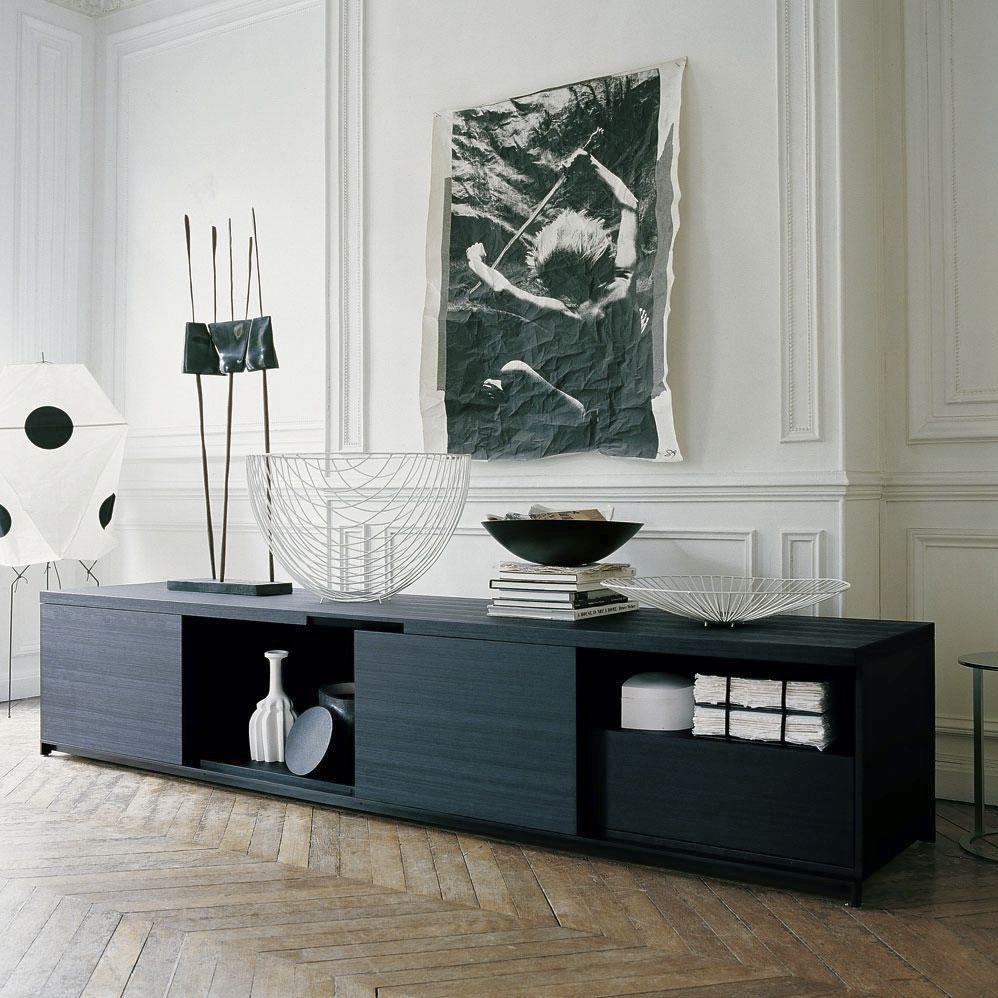 Credenza moderna / in legno massiccio / di Antonio Citterio - MIDA ...