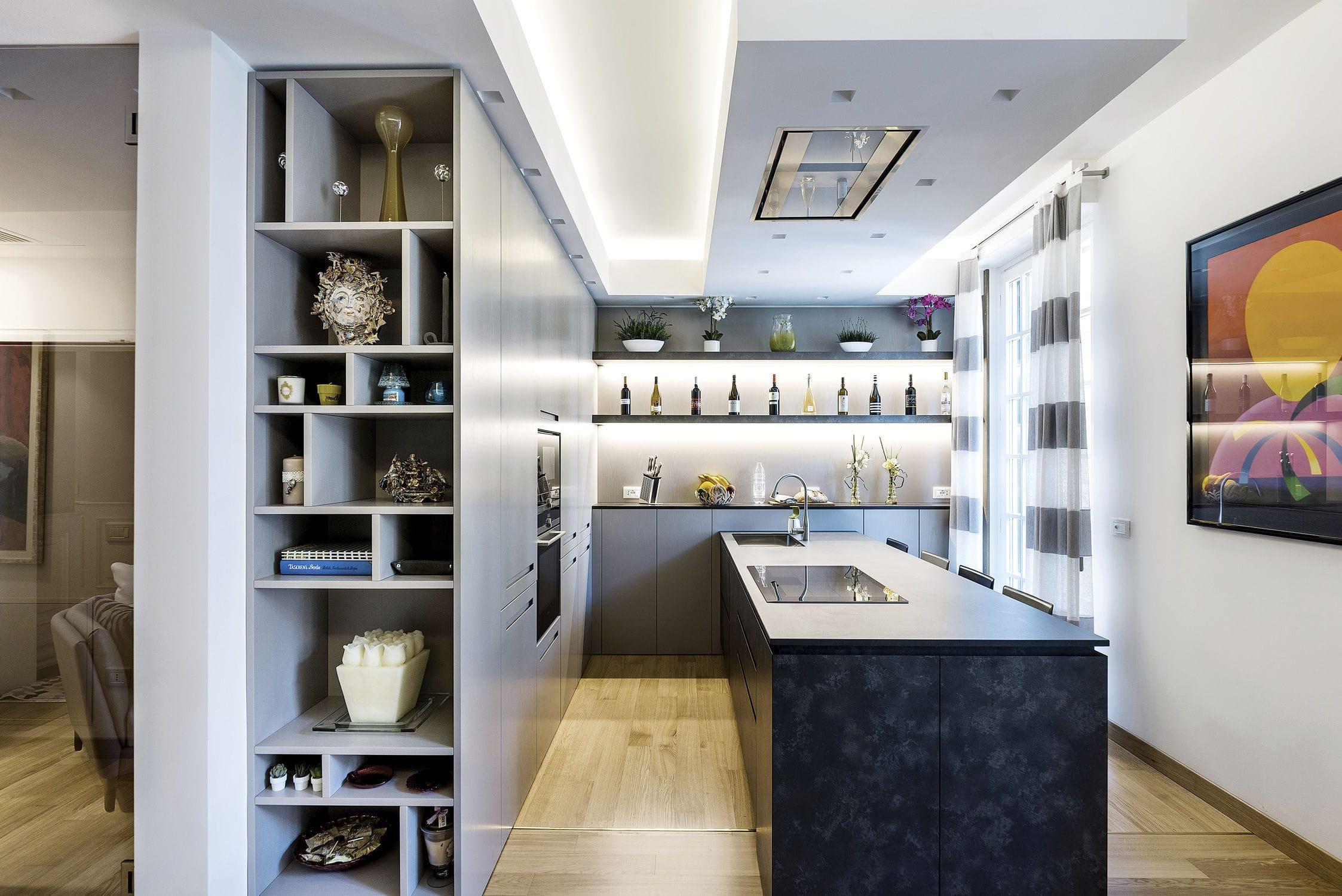 Cucina moderna / in laminato / senza maniglie - 20150301 – CUCINA ...