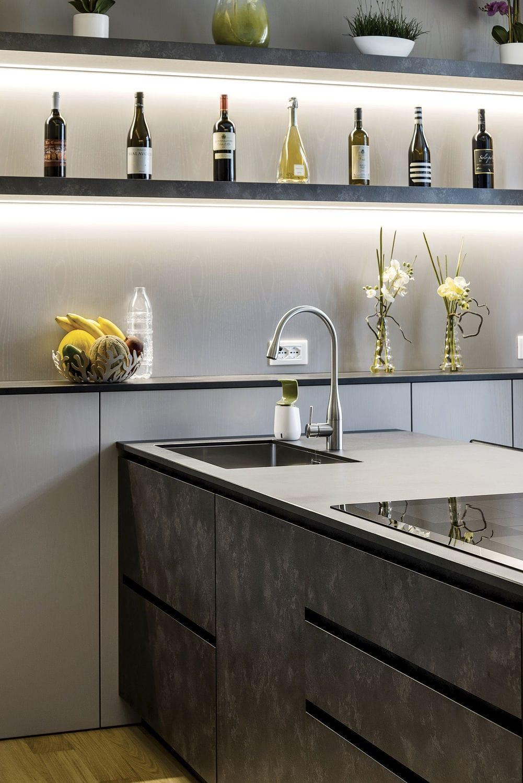 Cucina moderna / in laminato - 20150301 – CUCINA CON PENISOLA E ...