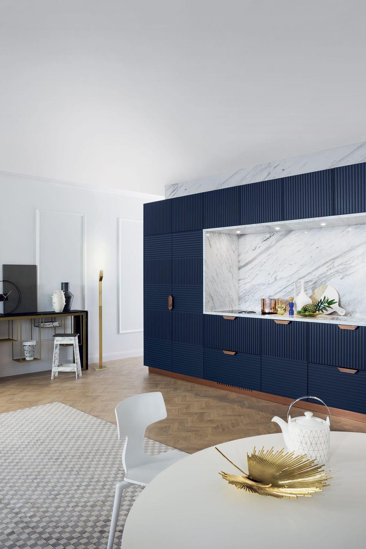 Cucina moderna / in legno laccato / in pietra / modulare - MIUCCIA ...
