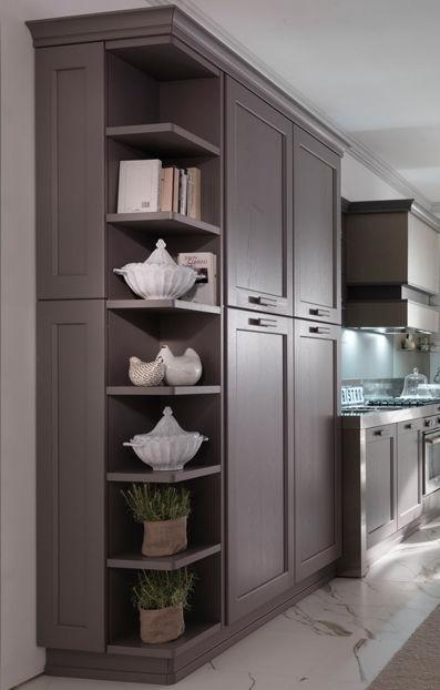 Mensola / moderno / in legno / per cucina - TERMINAL UNIT - DIBIESSE